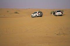 Safari de désert à Dubaï Photo stock