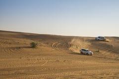 Safari de désert à Dubaï Photos stock