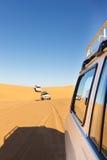 Safari de désert de Sahara Photo stock