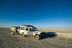 safari de jeep Photographie stock