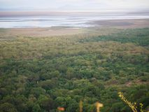 Safari de Manyara de lac dans Afric photographie stock