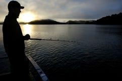 Safari de pêche en Nouvelle Zélande Images libres de droits