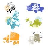 Safari de voiture de voyage Photos libres de droits