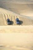Safari in de woestijn Royalty-vrije Stock Afbeelding