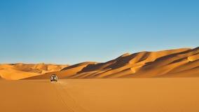 Safari del deserto di Sahara Fotografie Stock Libere da Diritti