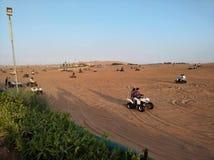 Safari del desierto de Dubai Fotografía de archivo libre de regalías