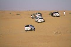 Safari del desierto en Dubai Imagenes de archivo