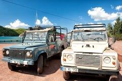 Safari della jeep Fotografie Stock Libere da Diritti
