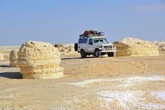 Safari in the desert Stock Photo