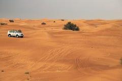 Safari Desrt in Dubai Lizenzfreie Stockbilder
