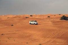 Safari Desrt in Dubai Stockbilder