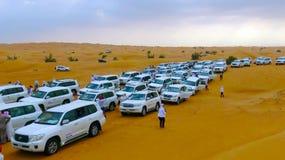 Safari Desrt nel Dubai fotografie stock libere da diritti