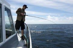 Safari di pesca in Nuova Zelanda fotografia stock libera da diritti