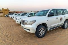 Safari do deserto da noite Imagem de Stock