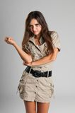 Safari dress Stock Photo