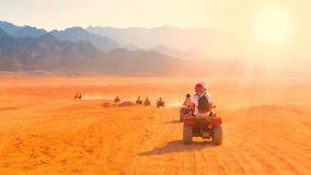 Safari Egipto de la motocicleta Fotos de archivo