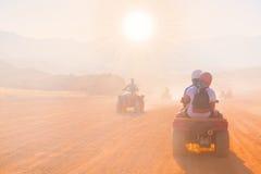 Safari Egipto de la motocicleta Fotografía de archivo libre de regalías