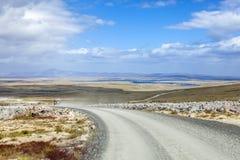 safari 4X4 em Falkland Islands Foto de Stock