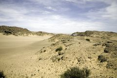 Safari esquelético de la costa imagen de archivo libre de regalías