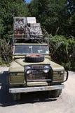 Safari-Fahrzeug Stockfotos