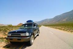 Safari fuori strada di socotra Fotografia Stock Libera da Diritti