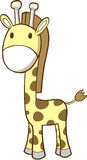 Safari Giraffe Vector. Cute Safari Giraffe Vector Illustration Stock Photo