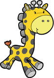 Safari Giraffe Vector Royalty Free Stock Photography