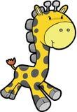 Safari Giraffe Vector Royalty Free Stock Photography