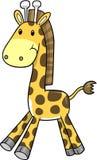 Safari Giraffe Vector Illustration Royalty Free Stock Photos