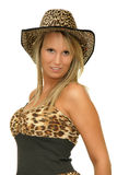 Safari girl Royalty Free Stock Image