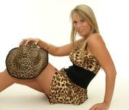 Safari girl Royalty Free Stock Photography
