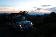 Safari i Horton Plains National Park Royaltyfria Foton