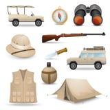 Safari Icons For  Hunting Stock Photography