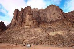 Safari im Wadi-Rum Lizenzfreies Stockbild
