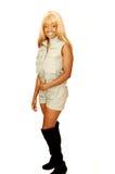 Safari jamaicano joven 89 totales de la muchacha. foto de archivo