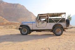 Safari jeep Royalty Free Stock Image