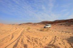 Safari jeep Stock Photography