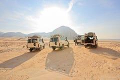 Safari Jeeps Stock Images