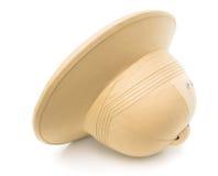 Safari kapelusz odizolowywający na bielu Obraz Royalty Free