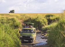 Safari in kenya stock image