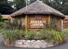 Safari & leisure park research center sign Royalty Free Stock Photo