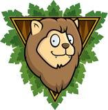 Safari Lion. A lion with a safari background Royalty Free Stock Photos