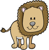 Safari Lion. Cute Safari Lion Vector Illustration Stock Photography