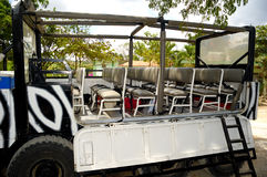 Safari-LKWas Stockbilder