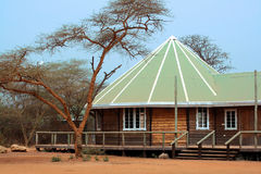 Safari lodge Royalty Free Stock Photos