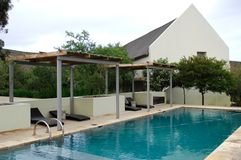 Safari Lodge Royalty Free Stock Images