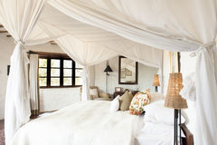 Safari Lodge Royaltyfri Foto