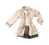 Safari look fashion composition royalty free stock photography