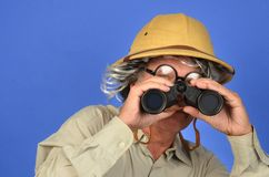 Safari Man Stock Photo