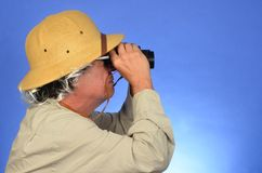 Safari Man Stock Image